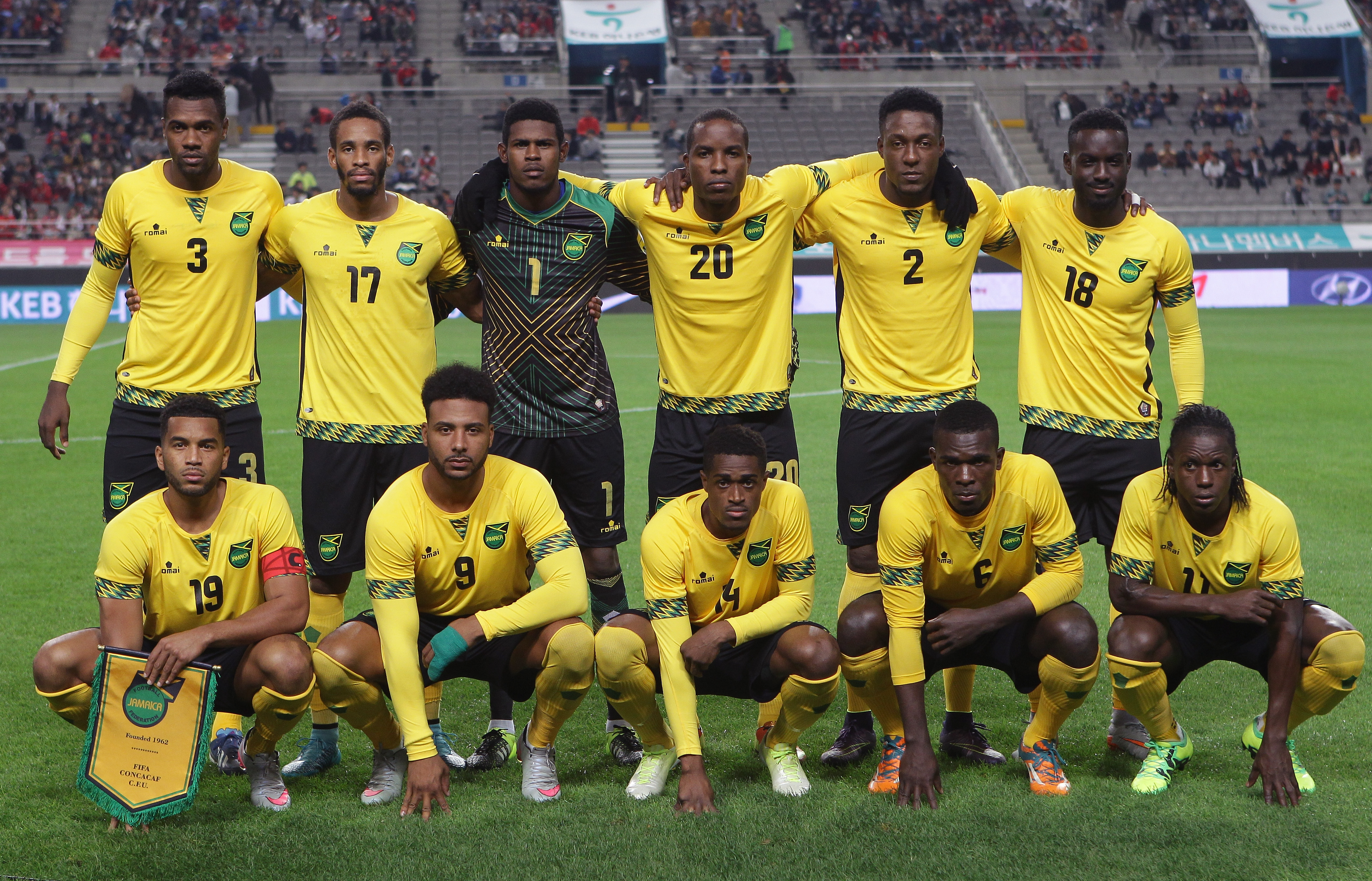 Jamaica Blows Past Curacao in Gold Cup Opener